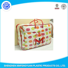 Clear PVC Plastic Zipper Bag Quilt Pillow Blanket Packaging Bags