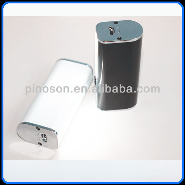 2013 new product 2200mah metal case mini power bank with patent design for iPhone5 and smartphones