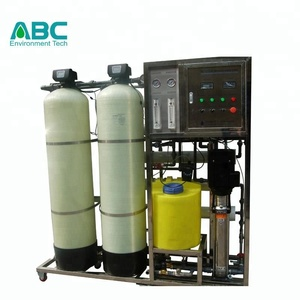 1000L/H borehole salty demineralized water purifying ionizer machine equipment