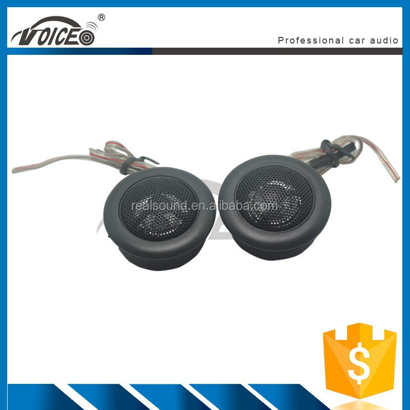 high efficiency mini black silk dome car tweeters