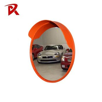 Reflective PC traffic mirror road safety convex mirror