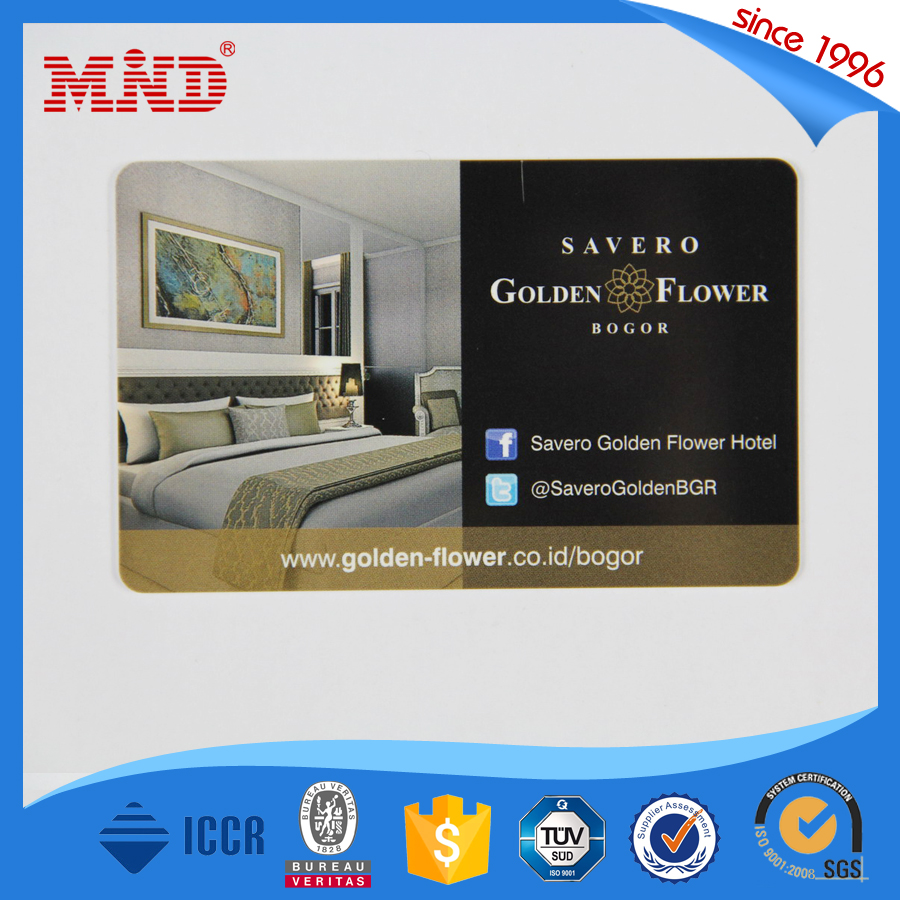 MDH50 Quality tk4100 contactless smart rfid hotel key card