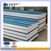 Fireproofing EPS Sandwich panels for cold room at any RAL color