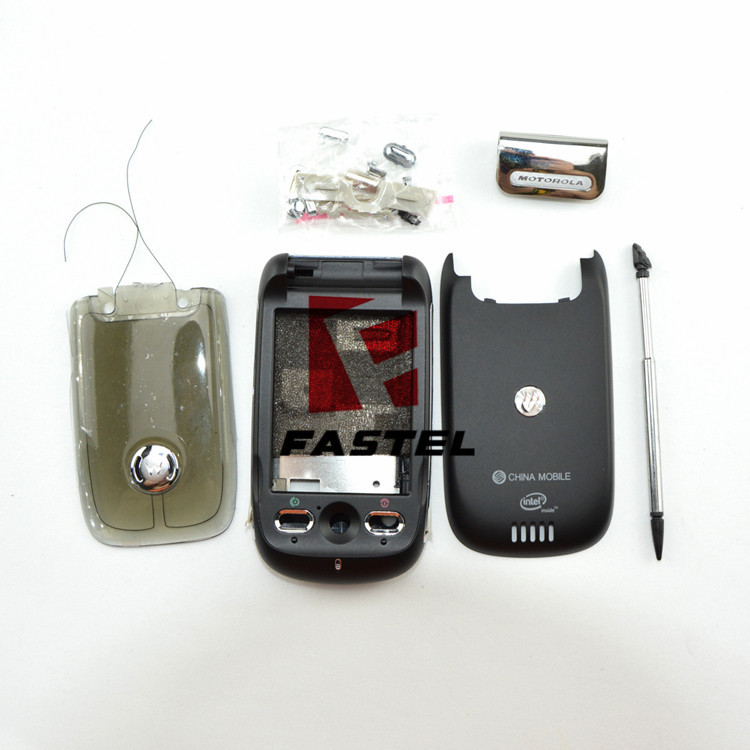 New High Quality Full Complete Mobile Phone housing cover case+Buttons For Motorola A1200 MING