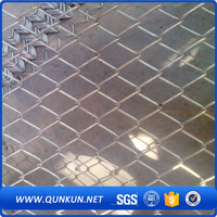 New design best price chain link fence poles