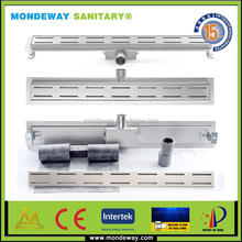 Other Earthwork drain channel plastic Floor Application and Drains Type Shower Channel