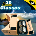 google cardboard 1.2 integrated unassembled cardboard customization logo printing google vr glasses supplier