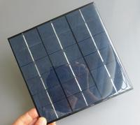 9V 4.5W 500mA Mini polycrystalline solar Panel, 9VDC 5W solar cells module battery charger enducation kits