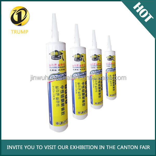 China Clear Silicone Adhesive Natural