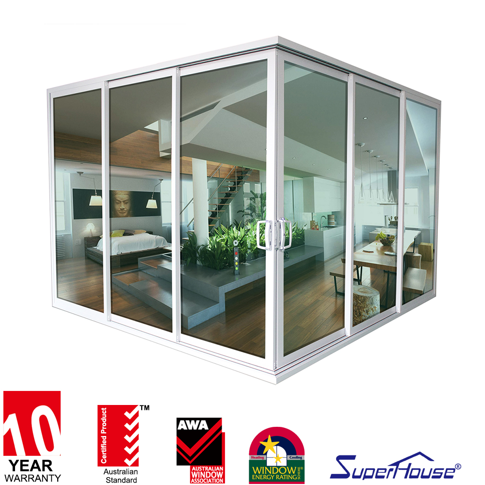 corner metal waterproof kitchen aluminium angled sliding door