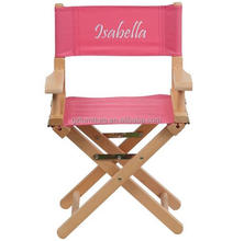 Personalized Kid Size Directors Chair in different colors