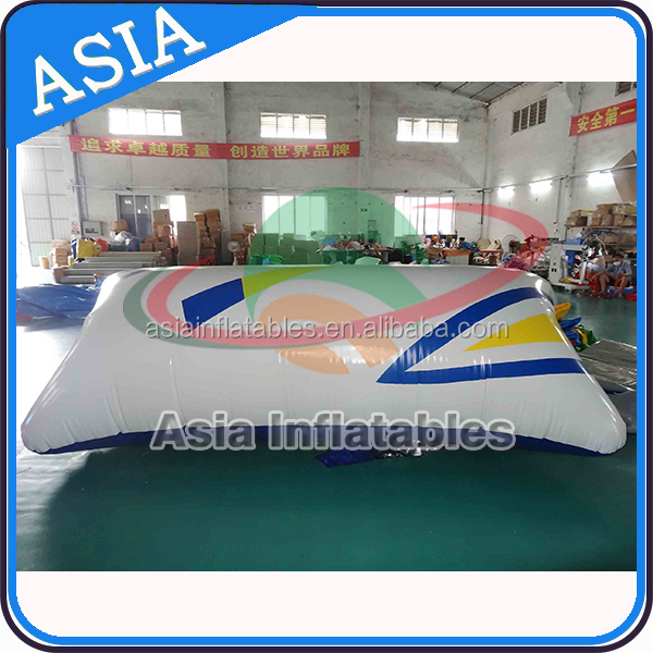 Professional Trampoline, Inflatable Water Catapult Blob With Digital Printing