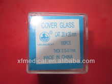Microscope Cover glass 20x20mm