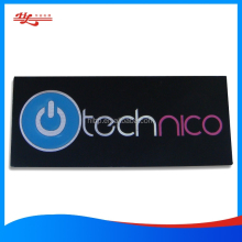 customized aluminum embossed logo