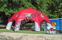 6 legs spider inflatable outdoor tents for sale