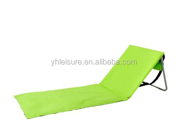 mat beach folding chair folding beach lounge chair 2015 cheap price