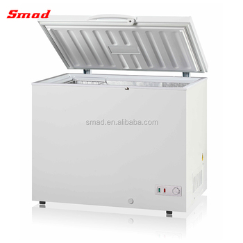 191L LPG Gas Absorption Refrigerator Camping Chest Fridge With Single Door