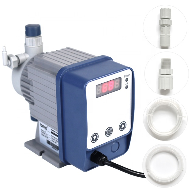 RO spare parts LPH strong acid chemical dosing <strong>pump</strong> adjustable metering <strong>pump</strong> for water treatment