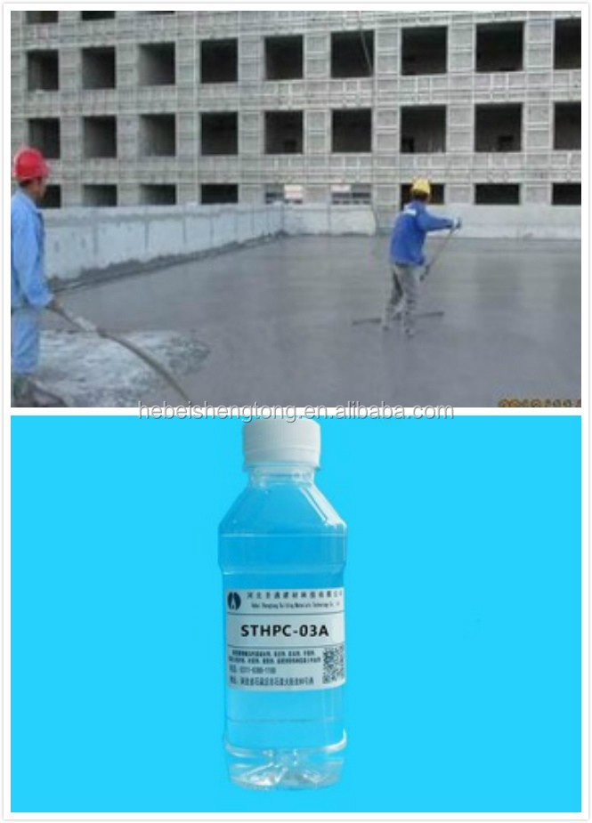 polycarboxylate superplasticizer types of concrete admixtures