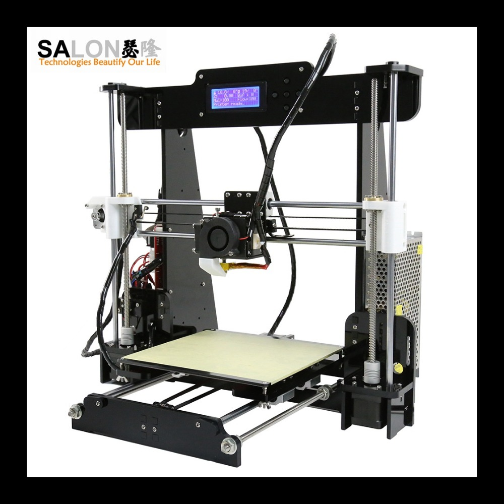 2016 hot sale Reprap prusa i3 3d printer lower 3d printer price made in china