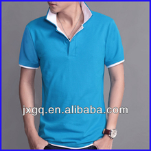 2013 new style two collar cheap us new design polo t shirt