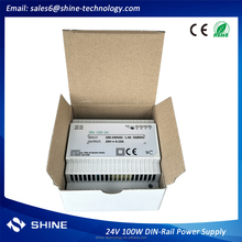 High quality industrial 100w din rail power supply 24v 12v for cctv