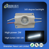 High lumen/2W /good price/high quality/high power led module with 160degree lens