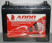 MF55D23L(12V 60Ah) Calcium MF Auto Battery.