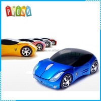 Fashion and high quality wireless car shape mouse
