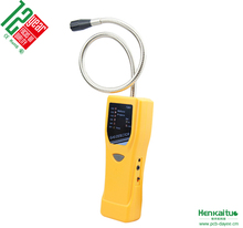 Portable Battery Powered Flexible Probe LED Indicator Alarm Digital 2 in 1 Methane Propane Gas Leak Detector