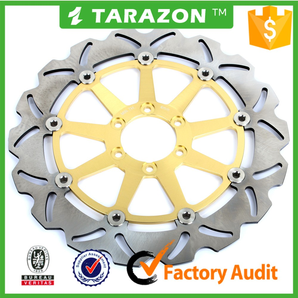 CNC aluminum 320mm street floating brake disc for motorcycle forMITO 125CC;RIVER 600CC