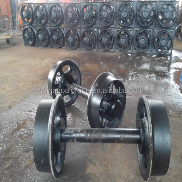 Cast Steel Mine Wagon Rail Steel Wheel With MA Certification