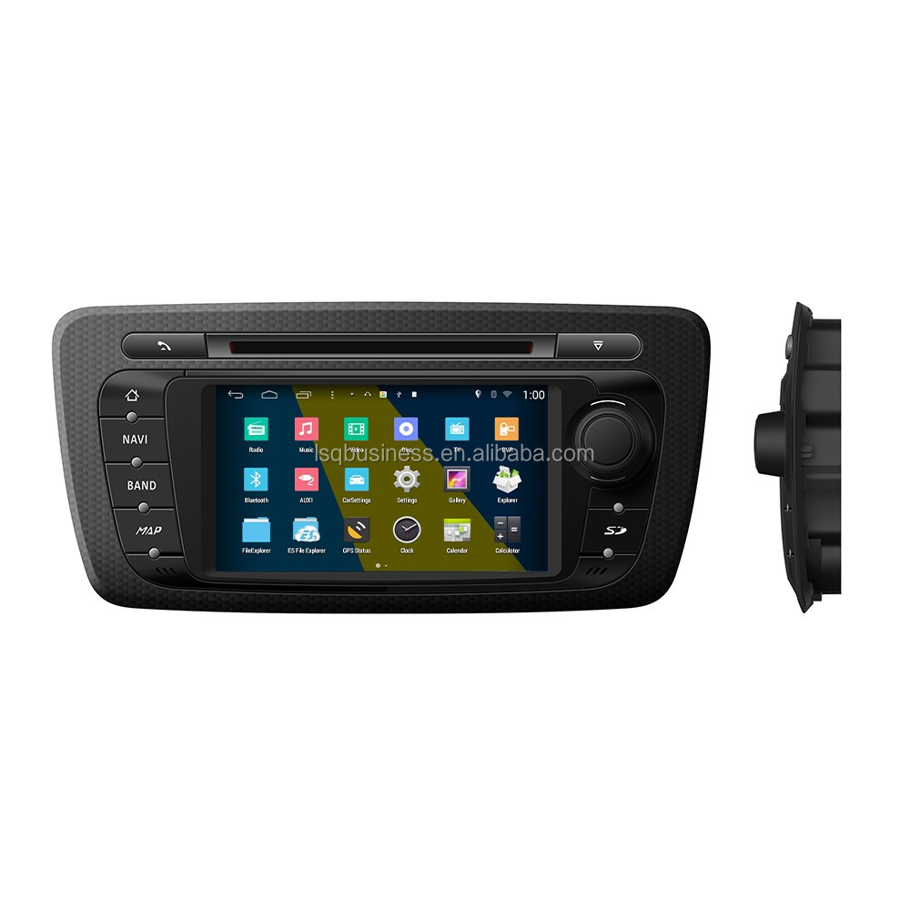 S160 Android 4.4.4 car dvd radio GPS navigition stereo for Seat ibiza