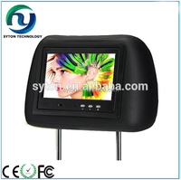 7inch 9inch wifi/3g Headrest taxi advertising equipment for taxi ad use