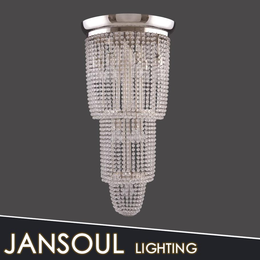 Jansoul Lighting Supply Chic Pendant Light With Crystal