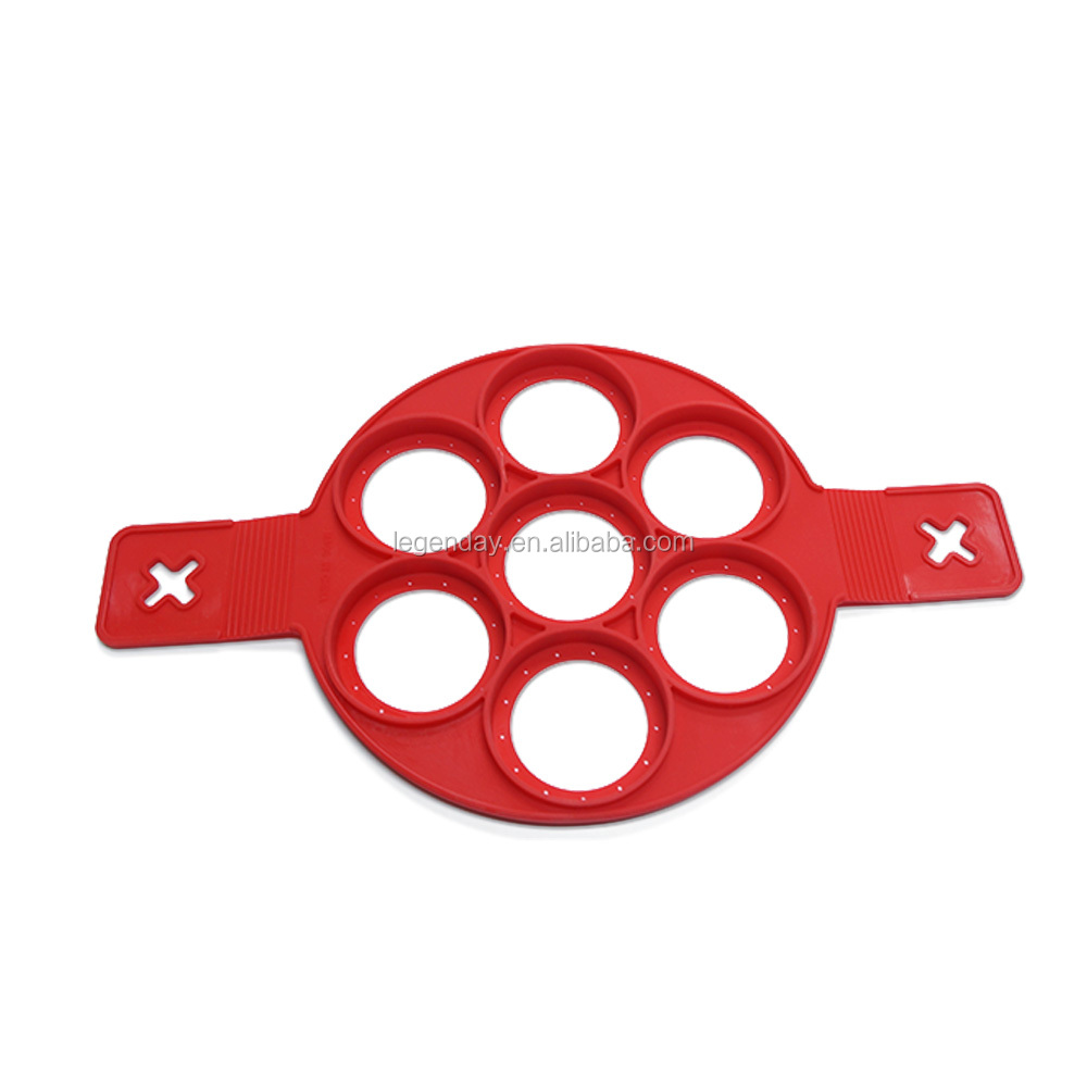 Silicone Pancake Maker and Flipper for Kitchen