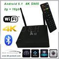 Smart TV Box quad Core Android 5.1 android quad core tv box 4k digital cable black box