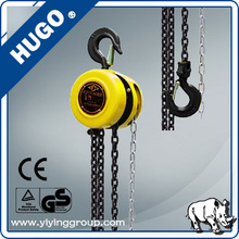 Hand pull block and tackle with Chain Bag