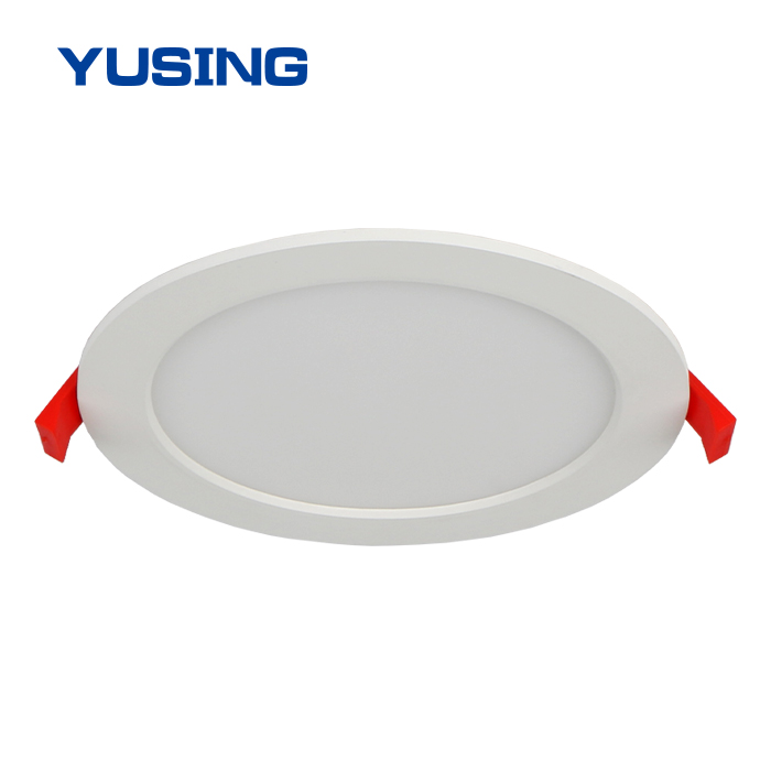 Newest Design Customized 4 Inch SMD 6W Ultra Slim Round Recessed Panel LED Downlight