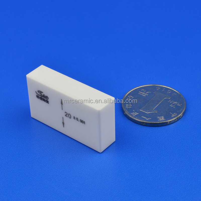 High thermal resistance zirconia ceramic gauge block