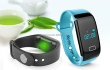 Colorful Heart Rate Monitor Bracelet Fitness Smart Bluetooth Bracelet Wristband