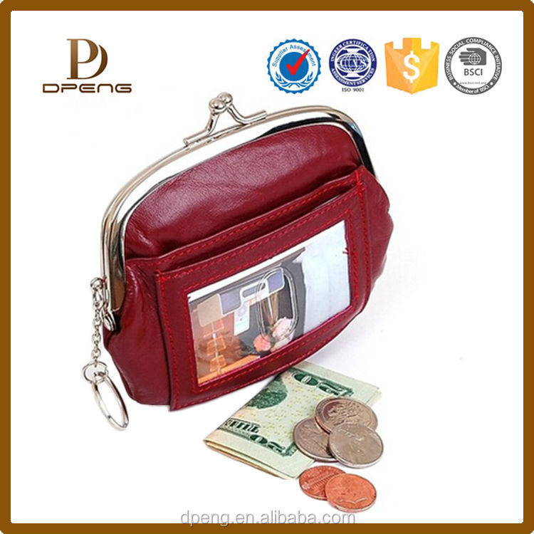 Alibaba Factory wholesale Custom personalized small clear coin purse