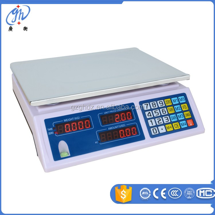 sri lanka digital price computing scale / acs-30 price computing scale