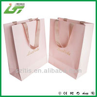 2015 Cheapest Top Quality luxury gift paper bag price , shopping paper bag, custom paper bag