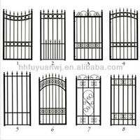 steel garden gates grill design (factory)