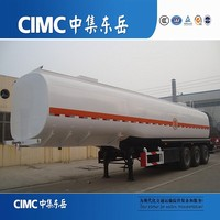 CIMC Dual Tyre Kerosene/Oil/Fuel Truck Trailer Tanker Low Price