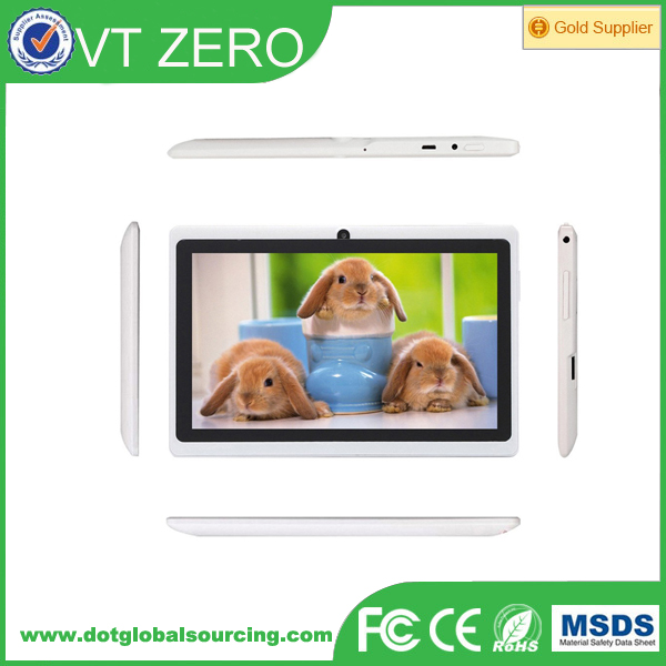 "Q8 Low price 7"" Tablet PC Android 4.4 Google A33 Dual-Core 512MB-8GB with WiFi"