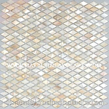 Luxury Stone Of Mother Of Pearl Tiles