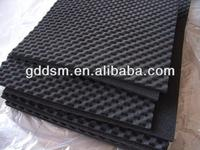 Egg crate acoustic foam sheets interior decorative wall covering panels