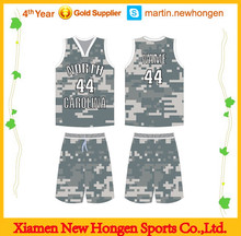 2014 custom made college school cheap youth new design latest cool team men's polyester oem service camo basketball uniform